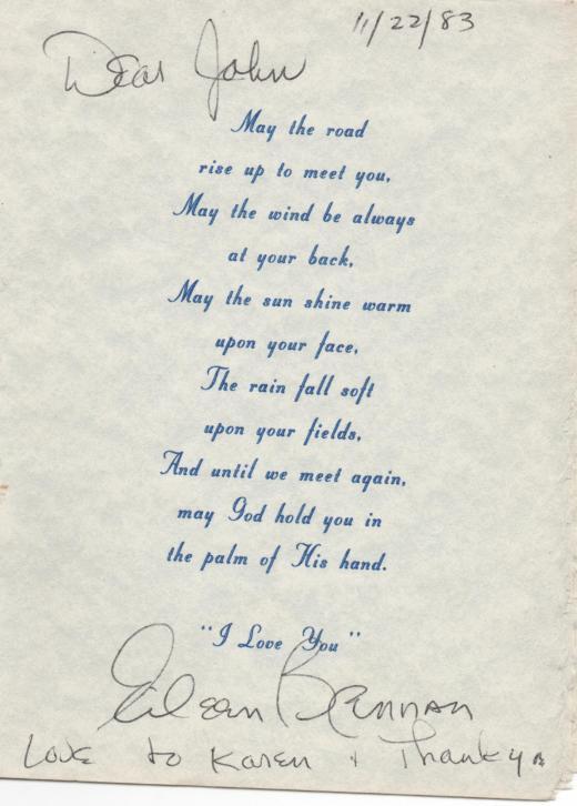 Eileen Brennan autograph