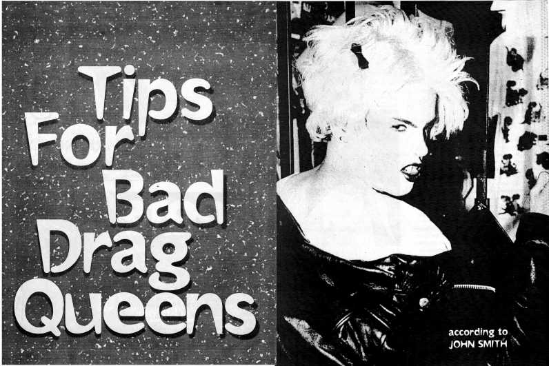 Tips for Bad Drag Queens banner